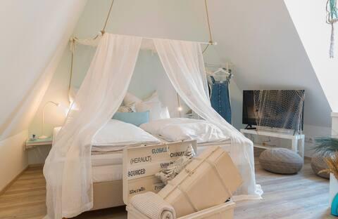 """Homerie-Haus für Gäste  Appartement """"Marschland"""""""