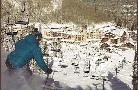 Slopeside  Condo Purgatory Durango Mountain Resort