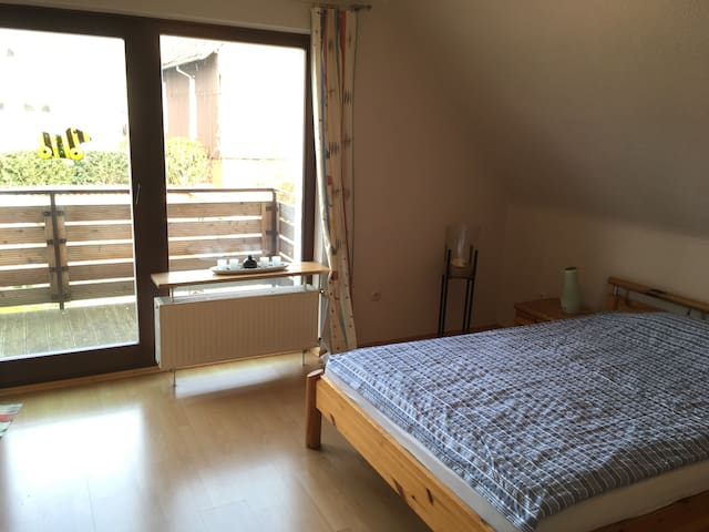 1 BR, WLAN, kitchen, 20min to Exhibition area