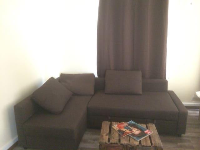 Le canapé lit d'appoint pour 2 personnes en 160