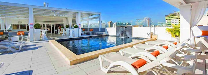 Santo Domingo Penthouse Bachelors Allowed + Bonus