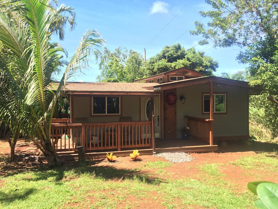 Waimea Hideaway tucked away in the peaceful hills of Pupukea, North Shore