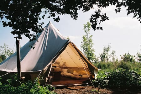 Glamping near Bath with indoor pool - Bradford on Avon - Tente