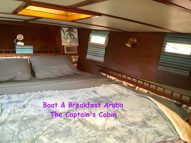 A Sailor's Dream - Unique Aruba Boat & Breakfast - Oranjestad