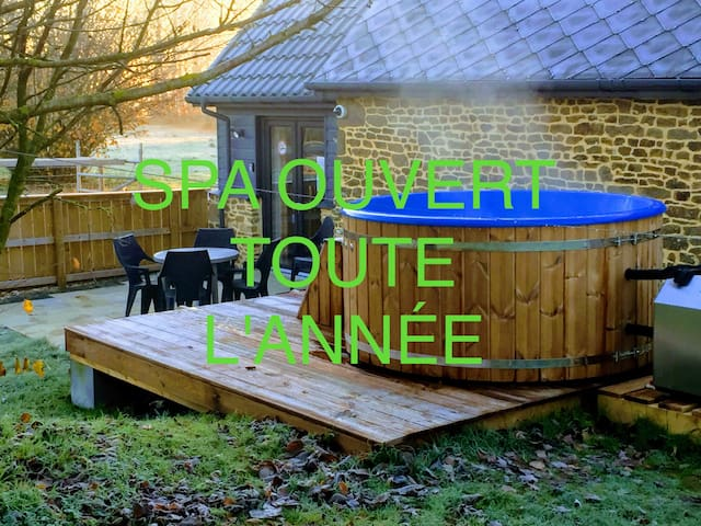 Gîte Mousandiére New renovation Spa open all year.