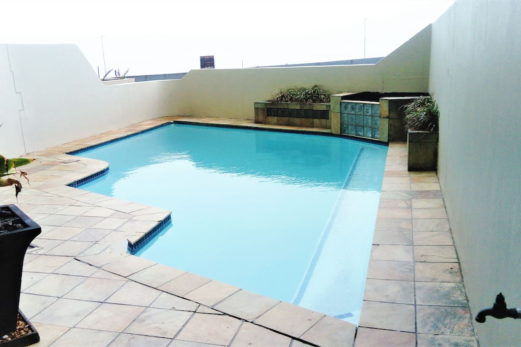 Swimming pool in the complex.
