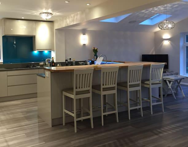 Newly Renovated Family House outside London - Saint Albans - Casa