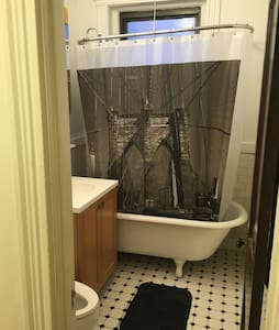 Room in Apartment, Full Size Bed and Clawfoot Tub - Boston - Lejlighed