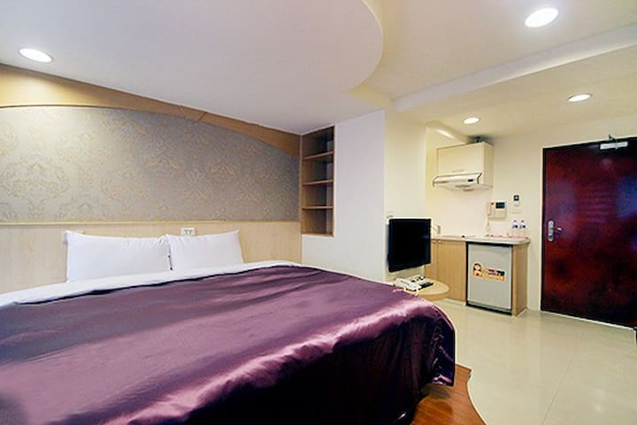 台北MRT西門町漢中雙人套房Double Room - Wanhua District - Byt