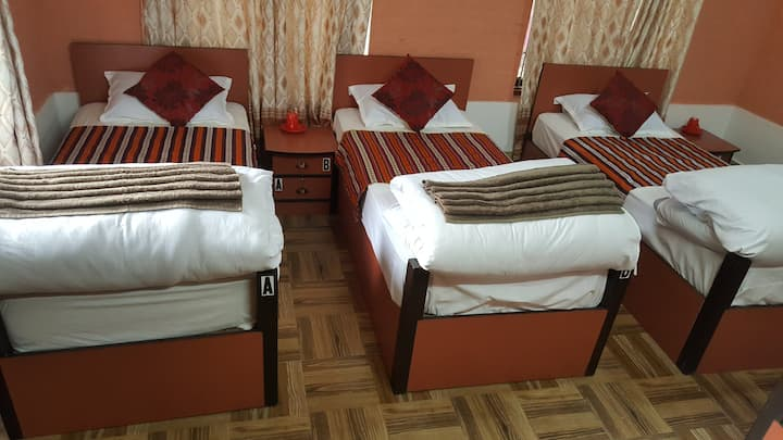 Clean and Quite Guest House for family in Thamel