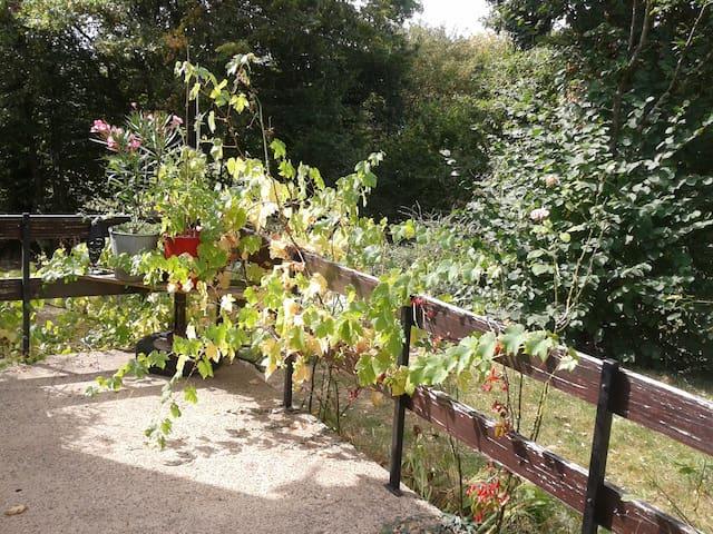 au calme en campagne, aux portes de brocéliande - Talensac - Huis