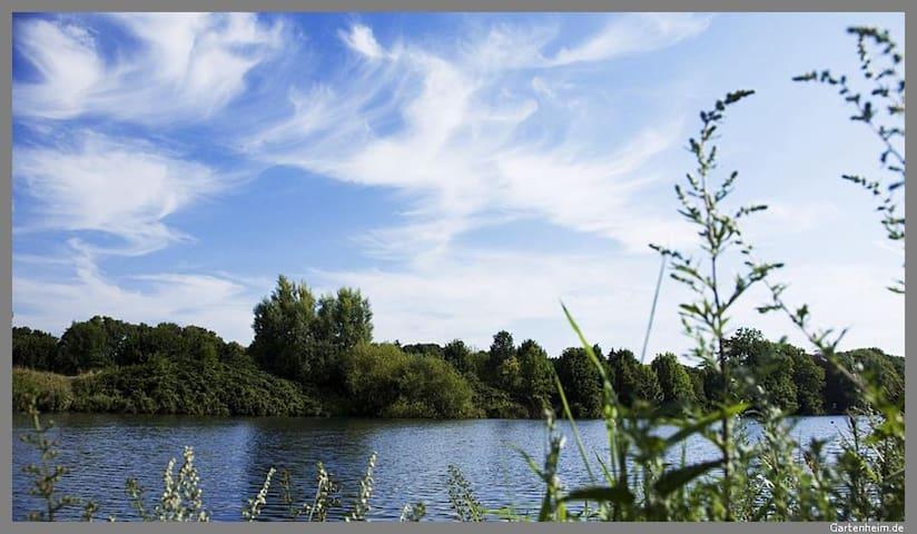 Stadt,Land,Fluss Wohnung Linden