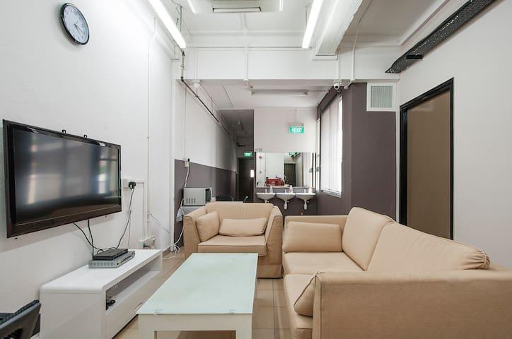 COSY SINGLE BED CAPSULE IN HOSTEL 6 - Singapur - Bed & Breakfast