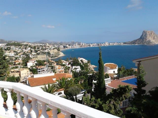 Blick auf die Bucht von Calpe