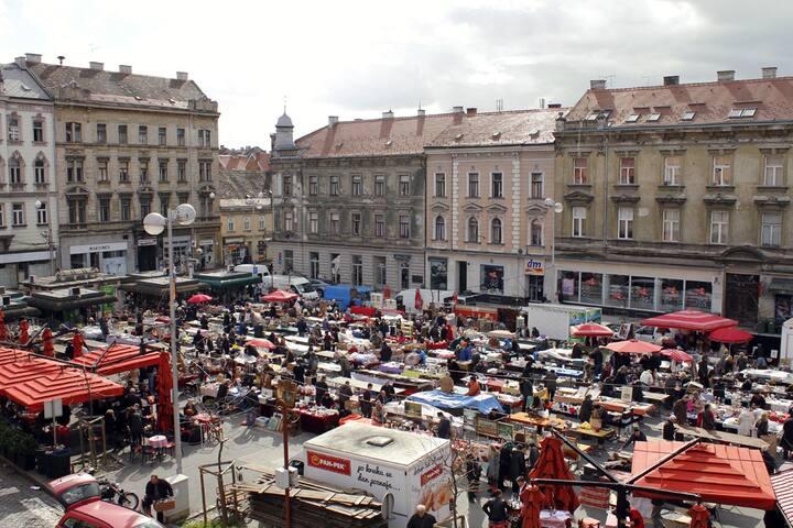 Lovely BnB in Zagreb Center for 3