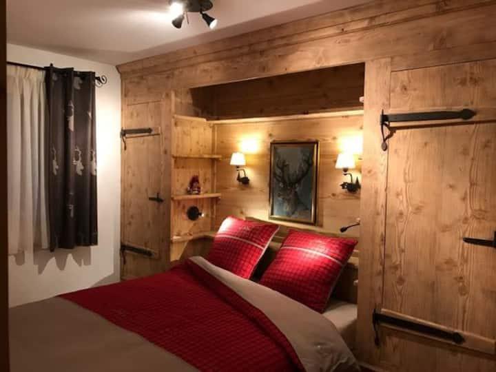 Appartement de charme style rustique, Morgins