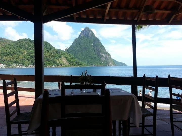 Beach Front Property in Soufriere.