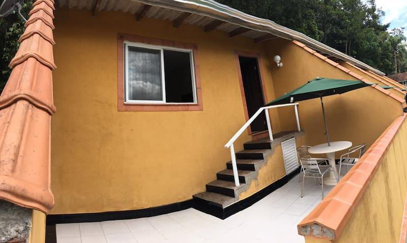 Suíte para até 3 pessoas no Cabaraquara-Guaratuba - Paraná - Dormitori compartit