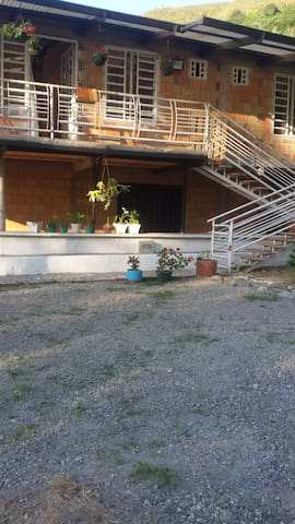 Casa de campo para vacacionar
