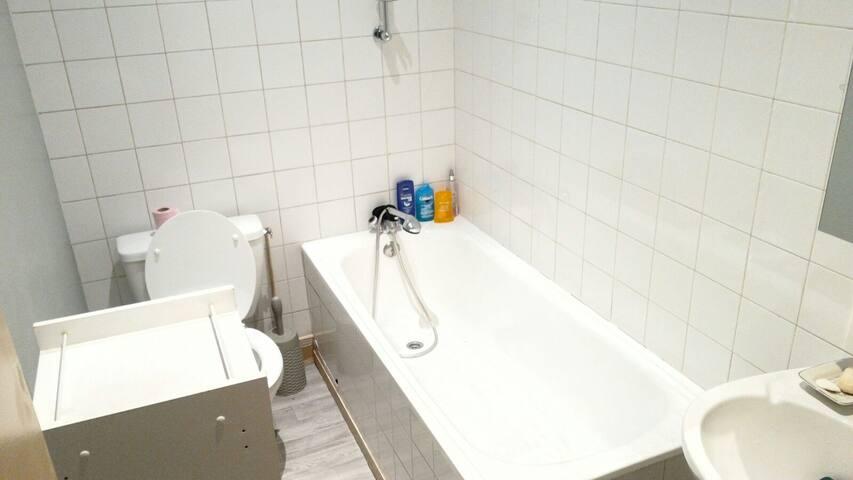 Chambre privée dans un appartement T2 fonctionnel - Limoges - Apartamento