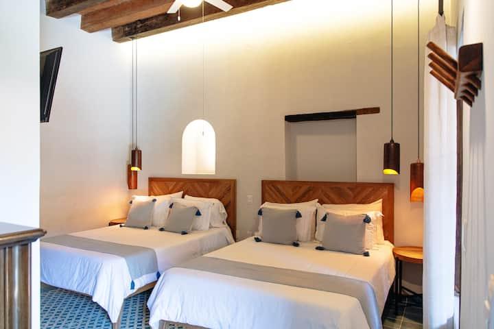 Habitación Standard con dos camas