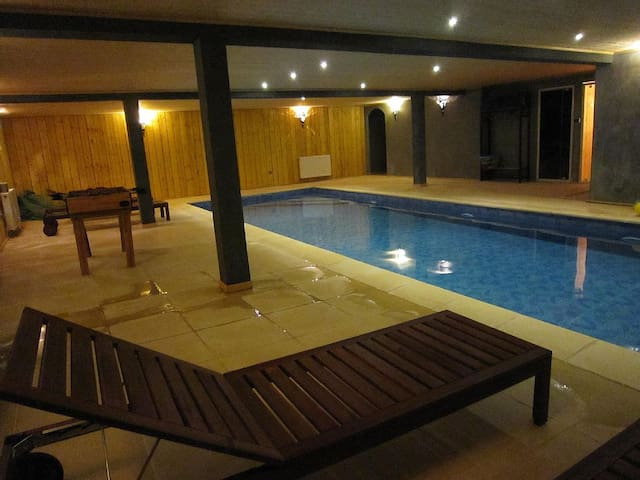 Chambres d'hotes piscine chauffée - Marcoussis - วิลล่า
