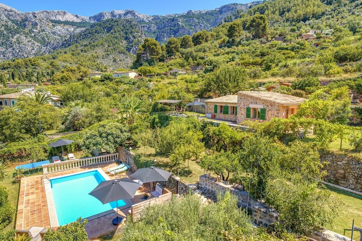 In the mountains with pool - Villa Sa Teulera Sóller