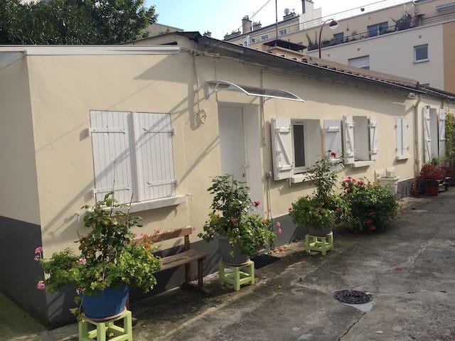 Un air de campagne à Paris :) - Le Pré-Saint-Gervais - House