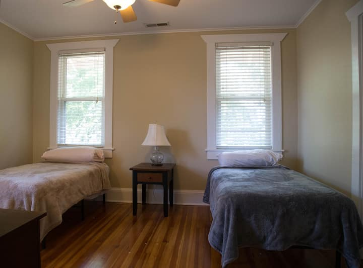 # 4  - two twin beds & private bath