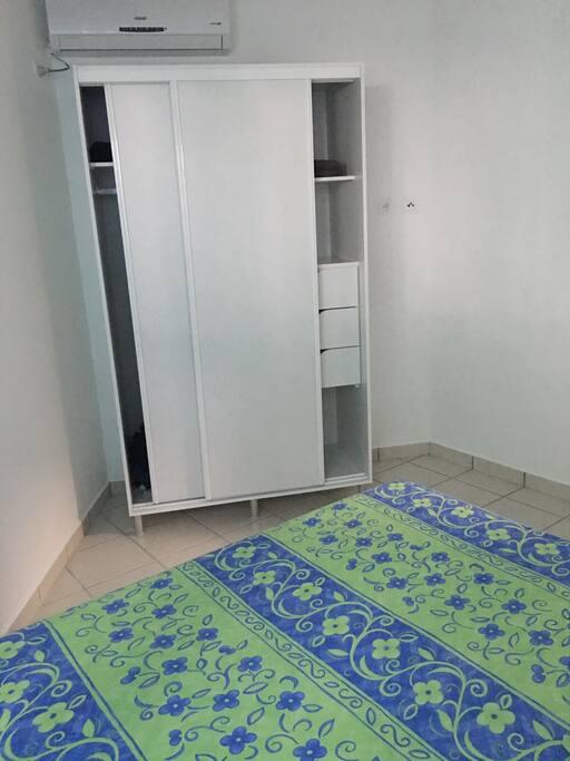 2ème chambre climatisée