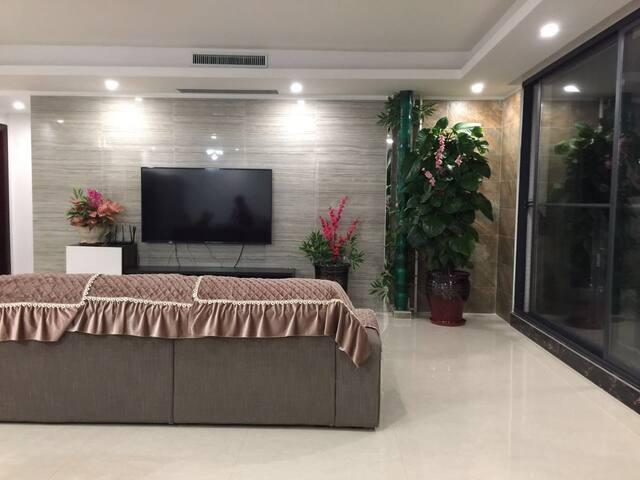 温馨的家(只接待家庭房客、女性房客) - Zhuhai - Rumah