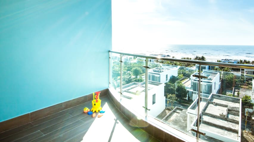 Seaside 2BR Apartment with gorgeous Ocean view - Thành phố Vũng Tàu - Appartement