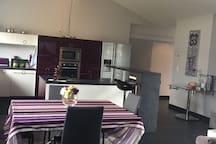 Salle à manger  cuisine