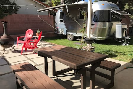 AIRSTREAM GLAMPING NEAR DISNEYLAND & BEACHES - Cerritos