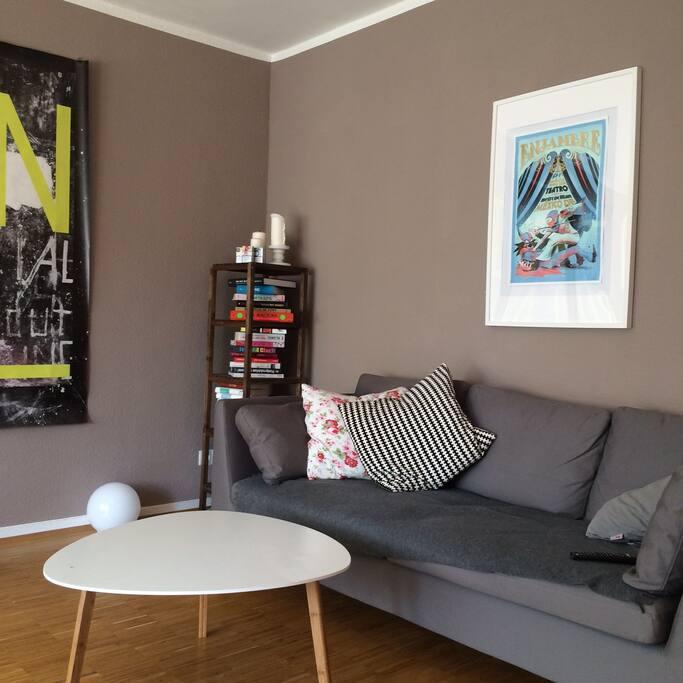 25qm living room