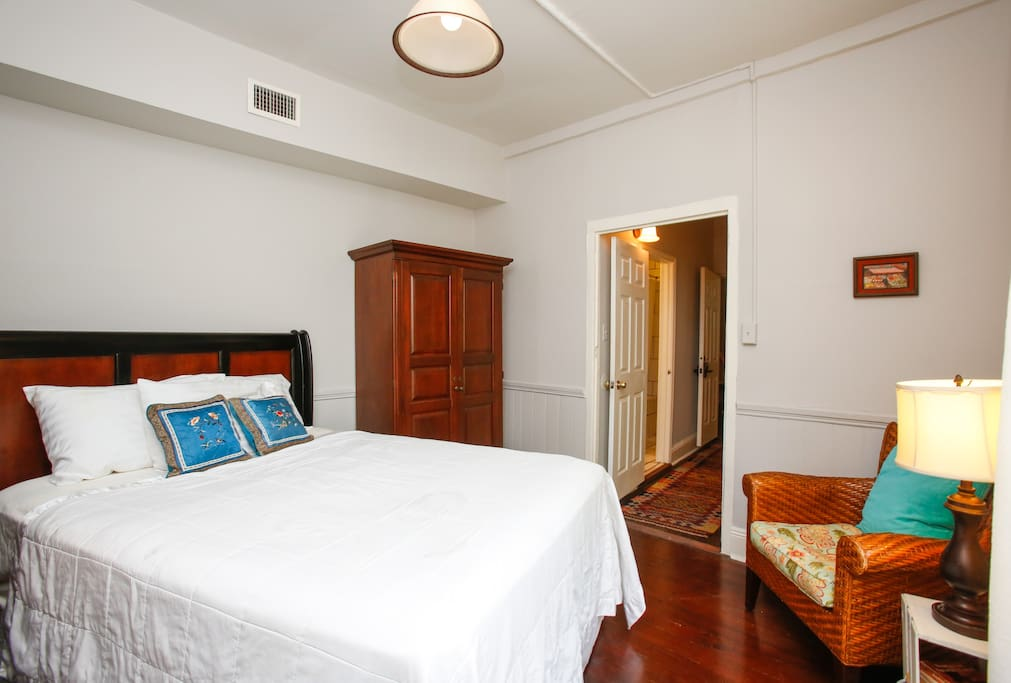 Romantic marigny near french quarter suite 10 chambres d for Chambre d hotes orleans