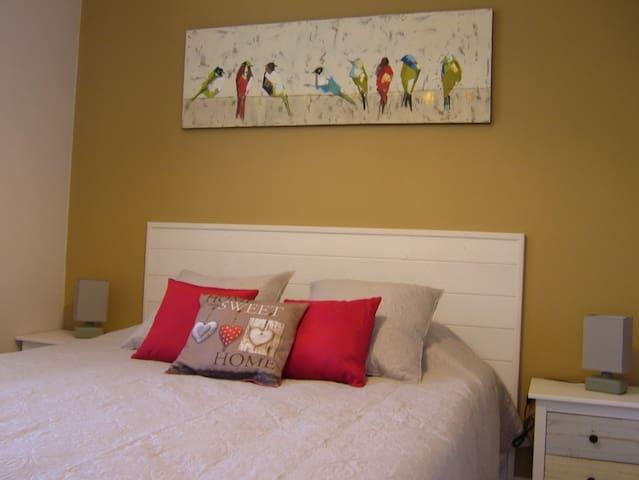 """Appartement """"Les Sables d'Or"""" à 5 min de Honfleur."""
