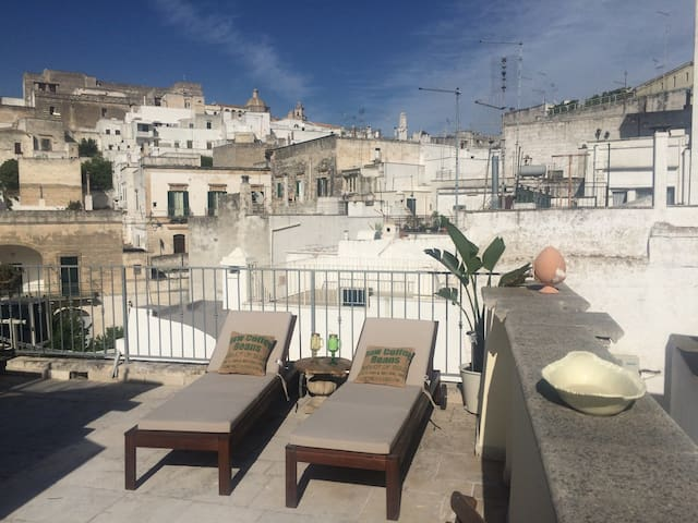 PIETRACHIARAHOUSE PANORAMIC TERRACE - Ostuni - Hus