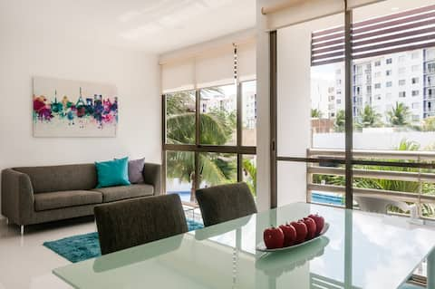 Nice apartment in Cancun downtown