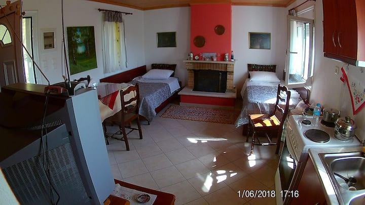 Παραδοσιακό σπίτι μέσα στην φύση στα  Τζουμέρκα!!!