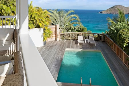 This luxury villa enjoys a prime location for relaxing holiday in St Barth - Gustavia