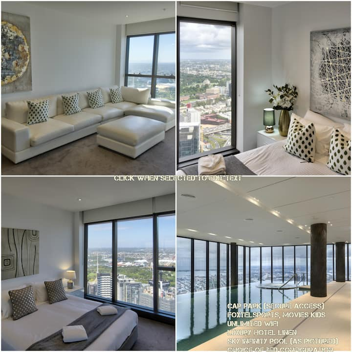 52nd Floor Luxury Apt in 6Star building by Casino2