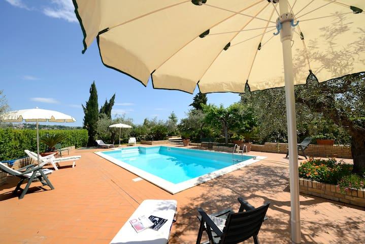 """""""Panoramica"""" @ La Casa del Gallo - Atri - Apartment"""