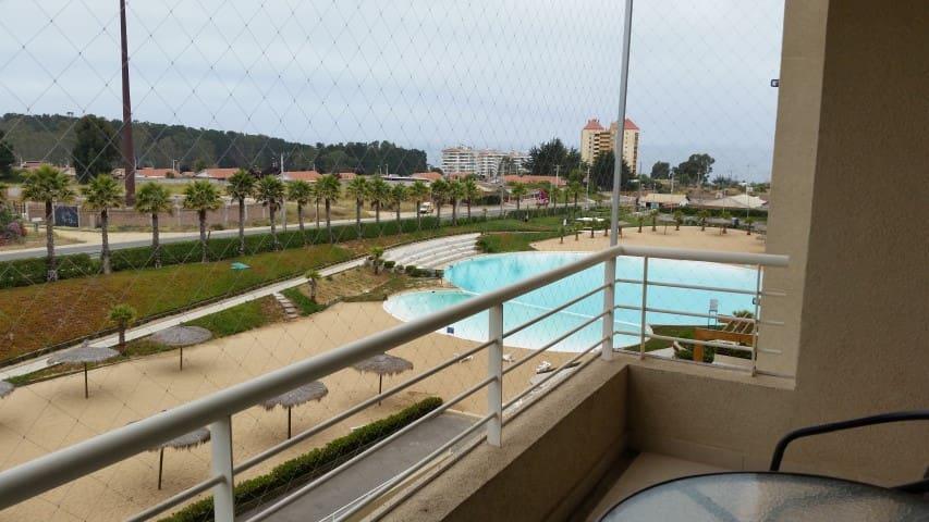 Algarrobo, con vista al mar, total Tranquilidad!!!
