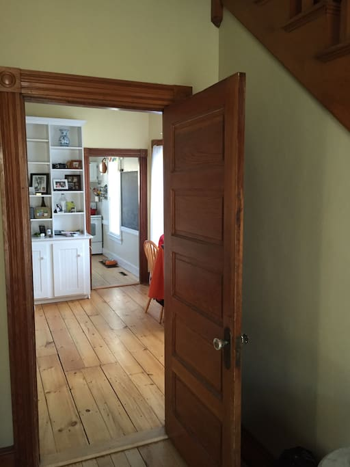 Entrance into dining area