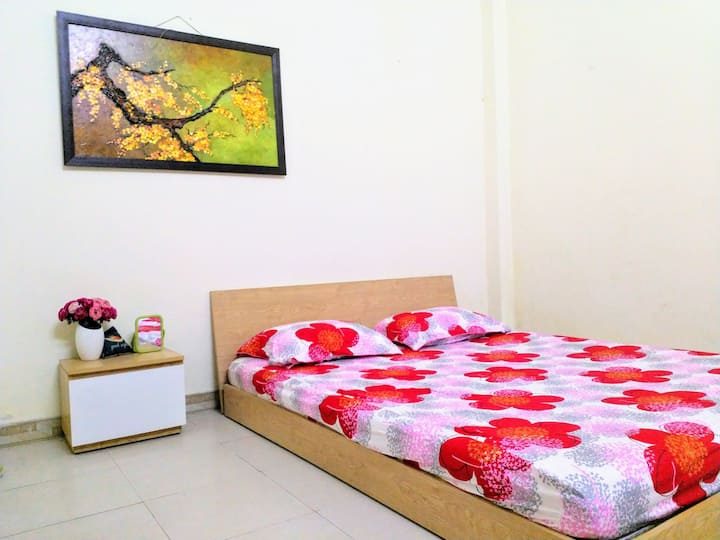 Budget room for long term stay in city center