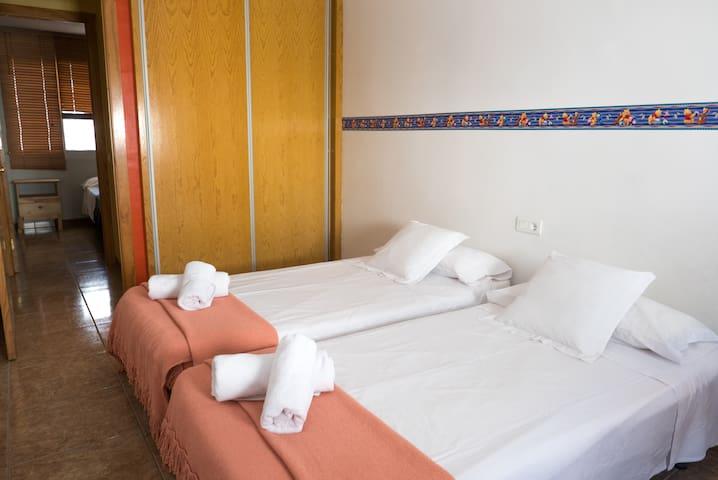 Habitacion dos camas individuales