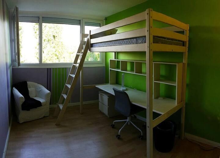 Chambre étudiante proche Université Orsay