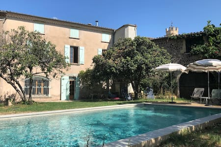 Maison de maître avec piscine près de Pézenas