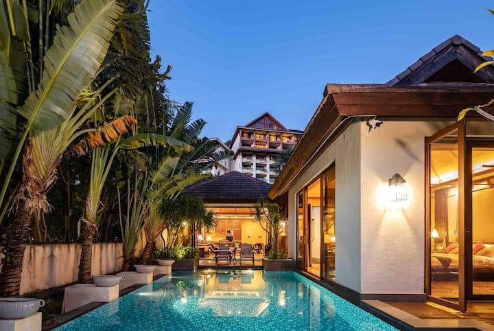 亚龙湾热带风情泳池别墅